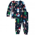 Baby And Toddler Boys Matching Gnome For The Holidays Snug Fit Cotton Pajamas