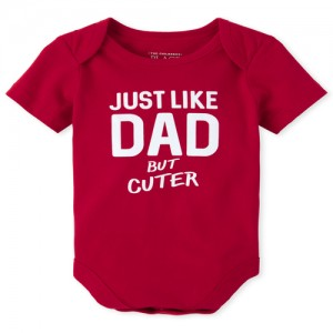Baby Boys Dad Graphic Bodysuit