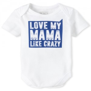 Baby Boys Mama Graphic Bodysuit