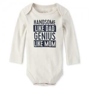 Baby Boys Family Genius Graphic Bodysuit