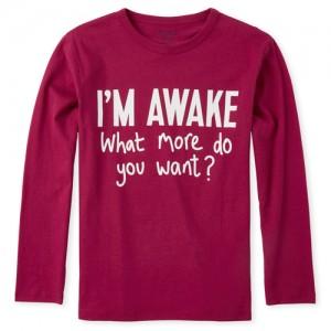Boys I'm Awake Graphic Tee
