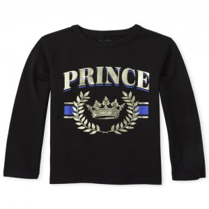 Baby And Toddler Boys Matching Family Prince Graphic Tee