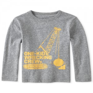 Baby And Toddler Boys Wrecking Crew Graphic Tee