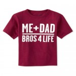 Baby And Toddler Boys Dad Bros Graphic Tee