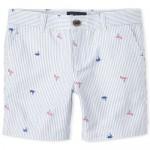 Boys Flamingo Chino Shorts