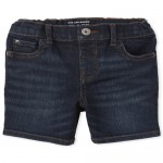 Baby And Toddler Boys Stretch Denim Shorts