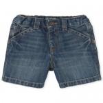 Baby And Toddler Boys Denim Utility Shorts