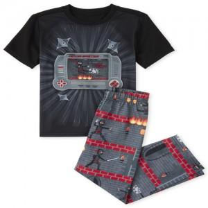 Boys Ninja Video Game Pajamas