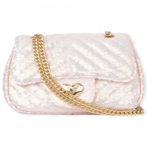 Girls Sequin Quilted Bag