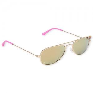 Girls Heart Aviator Sunglasses