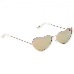Girls Glitter Unicorn Heart Sunglasses