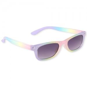 Toddler Girls Rhinestud Rainbow Sunglasses