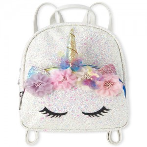 Girls Glitter Unicorn Mini Backpack