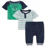 Baby Boys Daddy's MVP 3-Piece Playwear Set