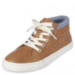 Boys Lace Up Hi Top Sneakers