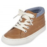 Toddler Boys Lace Up Hi Top Sneakers