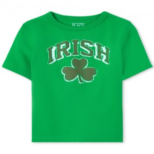 Baby And Toddler Boys Matching Family Shamrock Graphic Tee