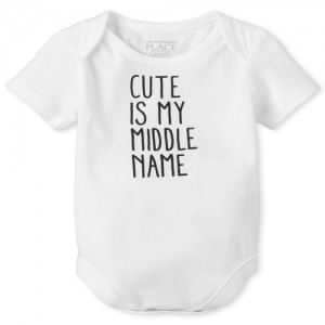 Unisex Baby Cute Graphic Tee