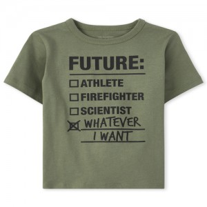 Baby And Toddler Boys Future Graphic Tee