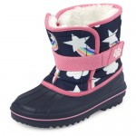 Toddler Girls Rainbow Snow Boots