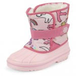 Toddler Girls Dino Snow Boots