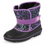 Toddler Girls Print Snow Boots