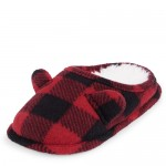 Unisex Toddler Matching Family Buffalo Plaid Slippers