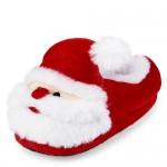 Unisex Toddler Matching Family Santa Slippers
