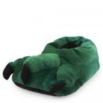 Toddler Boys Dino Foot Slippers
