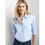 New fitted boyfriend oxford shirt