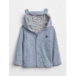Favorite Reversible Bear Hoodie Sweatshirt