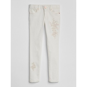 Embroidery Super Skinny Jeans