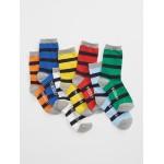 Stripe days-of-the-week socks (7-pack)