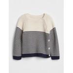Baby Stripe Garter Sweater