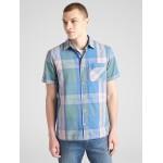 Plaid Short Sleeve Shirt in Poplin