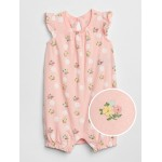 Baby First Favorite Print Flutter Shorty One-Piece
