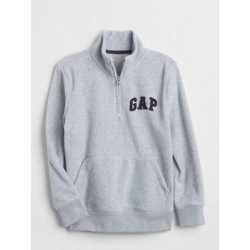 갭 Logo Quarter-Zip Sweatshirt