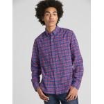 Plaid Oxford Shirt in Stretch