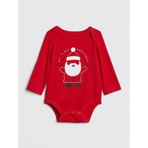 Santa Long Sleeve Bodysuit