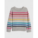 Crazy Stripe Pullover Sweater
