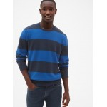 Cozy Classic Rugby Stripe Sweater