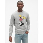 Gap &#124 Disney Mickey Mouse Graphic Pullover Sweatshirt