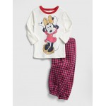 babyGap &#124 Disney Minnie Mouse Flannel PJ Set