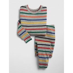 Crazy Stripe PJ Set