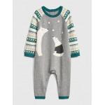 Polar Bear Sweater One-Piece
