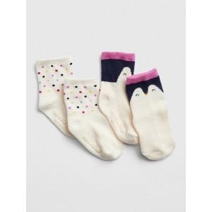 Penguin Crew Socks (2-Pack)