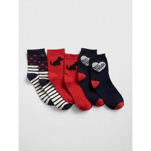 Dog Crew Socks (3-Pack)