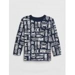 Print Pocket Long Sleeve T-Shirt
