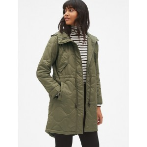 Midweight Quilted Fishtail Parka