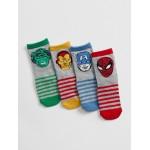 babyGap&#124 Marvel&#169 Crew Socks (4-Pack)